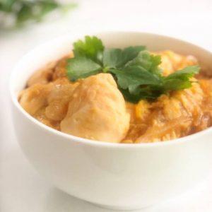 鶏肉、レシピ、鶏肉レシピ、親子丼、簡単、簡単レシピ